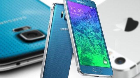 Iphone 5s Samsung Galaxy Alpha Und Galaxy S5 Im Vergleich