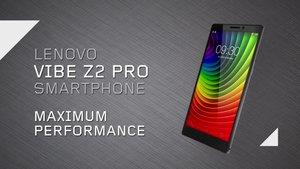 Lenovo Vibe Z2 Pro: 6-Zoll-Smartphone mit 2K-Display