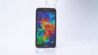 Ice Bucket Challenge: Samsung Galaxy S5 übersteht kalte Dusche (Update: Samsung spendete)