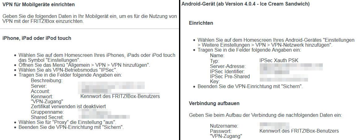 Fritzbox: VPN-Verbindung einrichten zu Android & Windows 10 ...