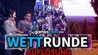 gamescom 2014: Die Auflösung der Wettrunde
