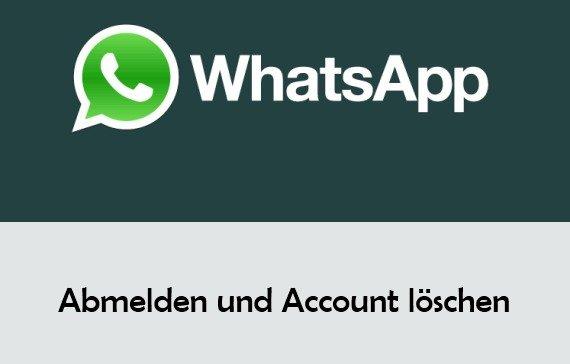 WhatsApp abmelden, löschen und ausloggen bei WhatsApp Web
