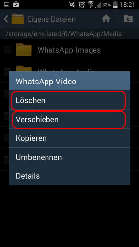 Whatsapp Daten Auf Sd Karte.Whatsapp Speicherort Für Videos Und Bilder Finden Und ändern