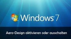 Windows Aero aktivieren, ausschalten und Einstellungen