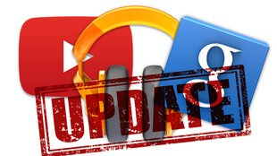Updates für Google Play Music, Google Now & YouTube (Downloads)