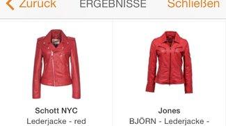 Zalando-App Bildersuche: Die Lederjacke für die Kanzlerin
