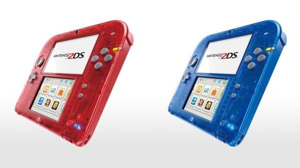 Nintendo 2DS: Transparente-Modelle und Pokemon-Bundle angekündigt