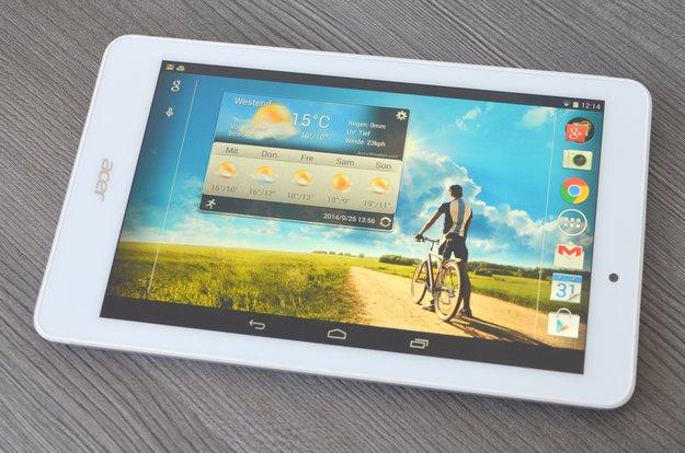 Acer Iconia Tab&nbsp&#x3B;8 im Lesertest&nbsp&#x3B;(3): Super-Display und aktuelles Android überzeugen