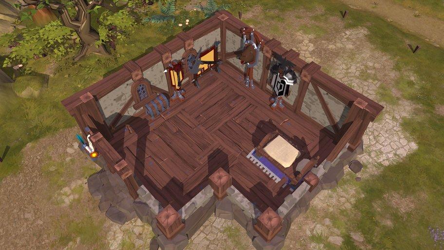 Albion Online: Jedes Haus wird von Spielern gebaut und eingerichtet