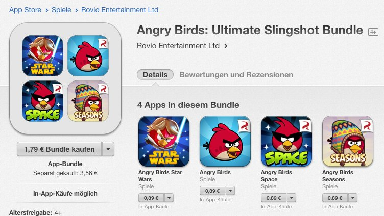 Angry Birds Bundle Screenshot