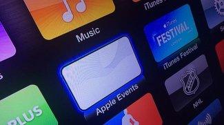 "Kanal ""Apple Events"" jetzt auf dem Apple TV verfügbar"