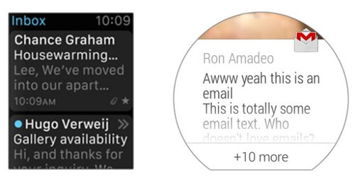 Apple-Watch-Vs-android-wear-email