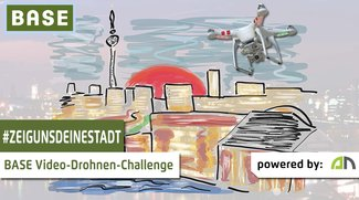 #zeigunsdeinestadt: Videodrohnen-Challenge von BASE und androidnext wird verlängert