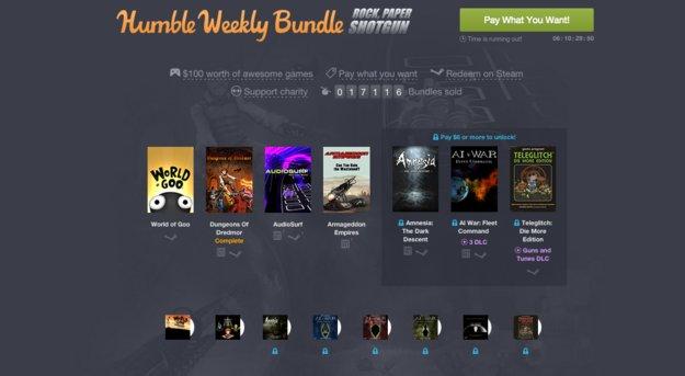 Humble Weekly Bundle: Amnesia, Teleglitch und mehr im Angebot