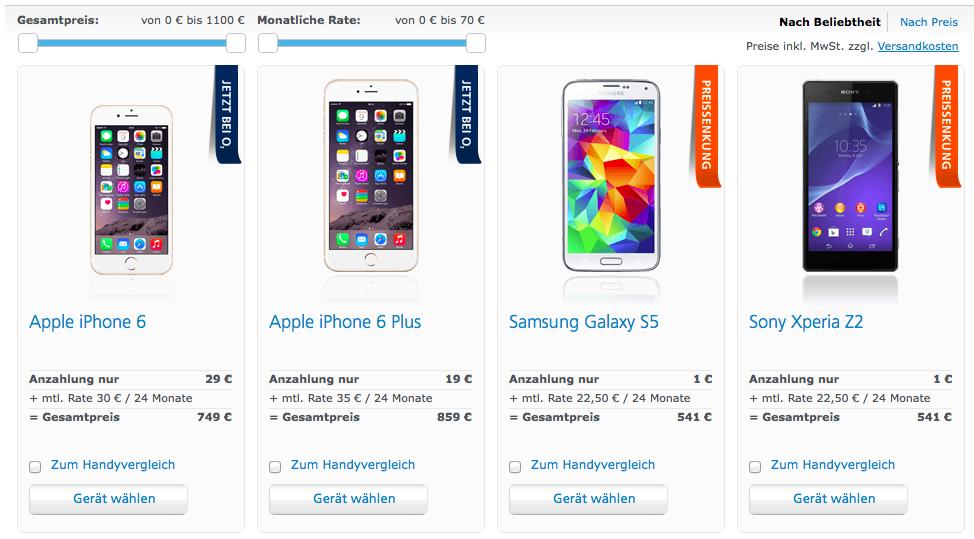 Iphone 6 Kaufen Preise Und Informationen Zum Verkaufsstart Giga