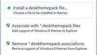 Deskthemepack Installer für Windows 7