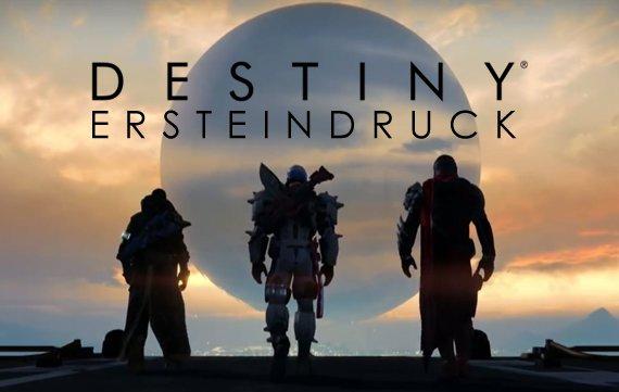 Destiny Ersteindruck: Noch nicht überwältigt