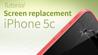 iPhone 5c screen replacement: Tutorial and FAQ [english]