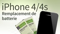 Remplacement de batterie d'iPhone 4/4s: Guide étape par étape