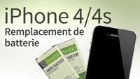 Remplacement de batterie d'iPhone 4/4s: Guide étape par étape
