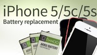 iPhone 5/5c/5s battery replacement: Photo tutorial