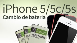 Cambio de batería de iPhone 5/5c/5s: Guía paso a paso
