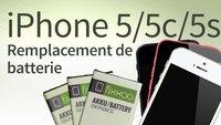 Remplacement de batterie d'iPhone 5/5c/5s: Guide étape par étape