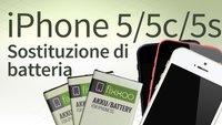 Cambio di batteria di iPhone 5/5c/5s: Guida passo dopo passo