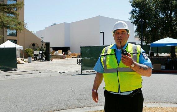 Apple trifft strikte Sicherheitsvorkehrungen am Flint Center