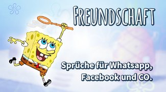 Freundschafts-Sprüche für WhatsApp, Facebook und Co.