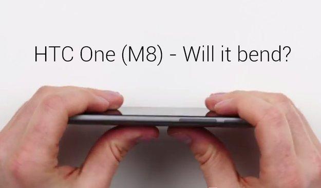 iPhone 6 Plus: Verbiegen sich die Mitbewerber wie Moto X (2014), HTC One (M8) auch? [Videos]