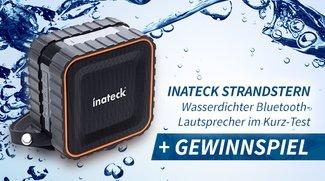 Inateck Strandstern: Wasserdichte Bluetooth-Lautsprecher - Gewinner stehen fest!