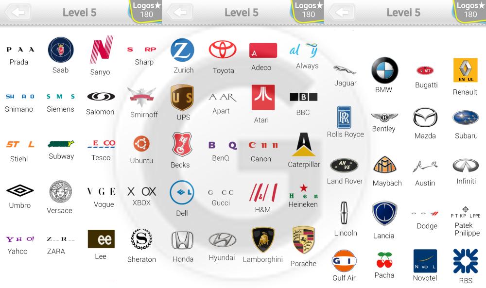 logo quiz level 5 lösungen
