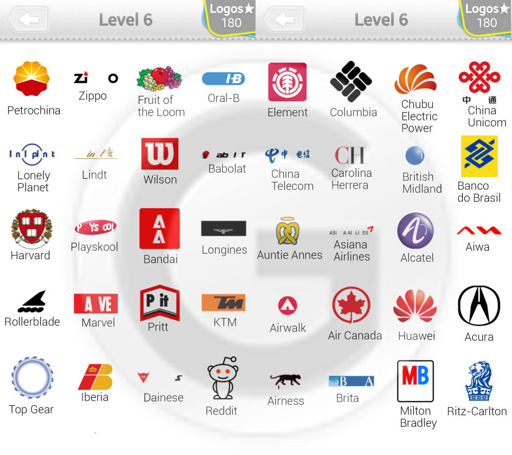 logo quiz l246sungen level 6 giga