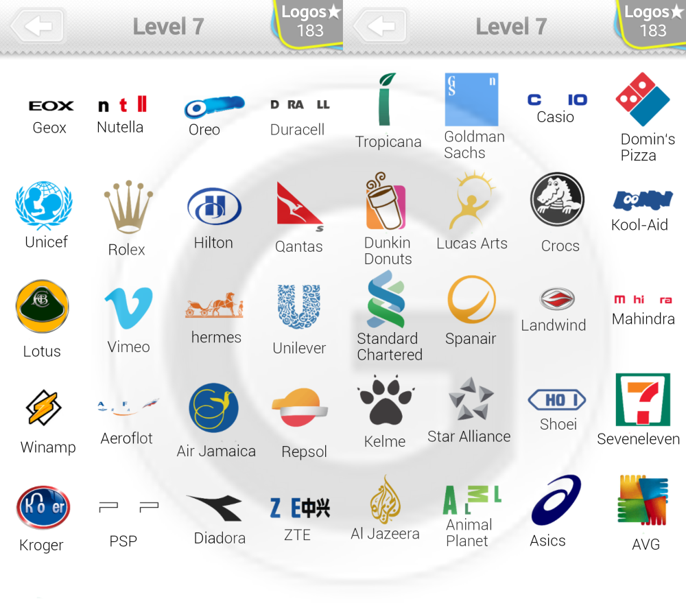 logo quiz l246sungen level 7 giga