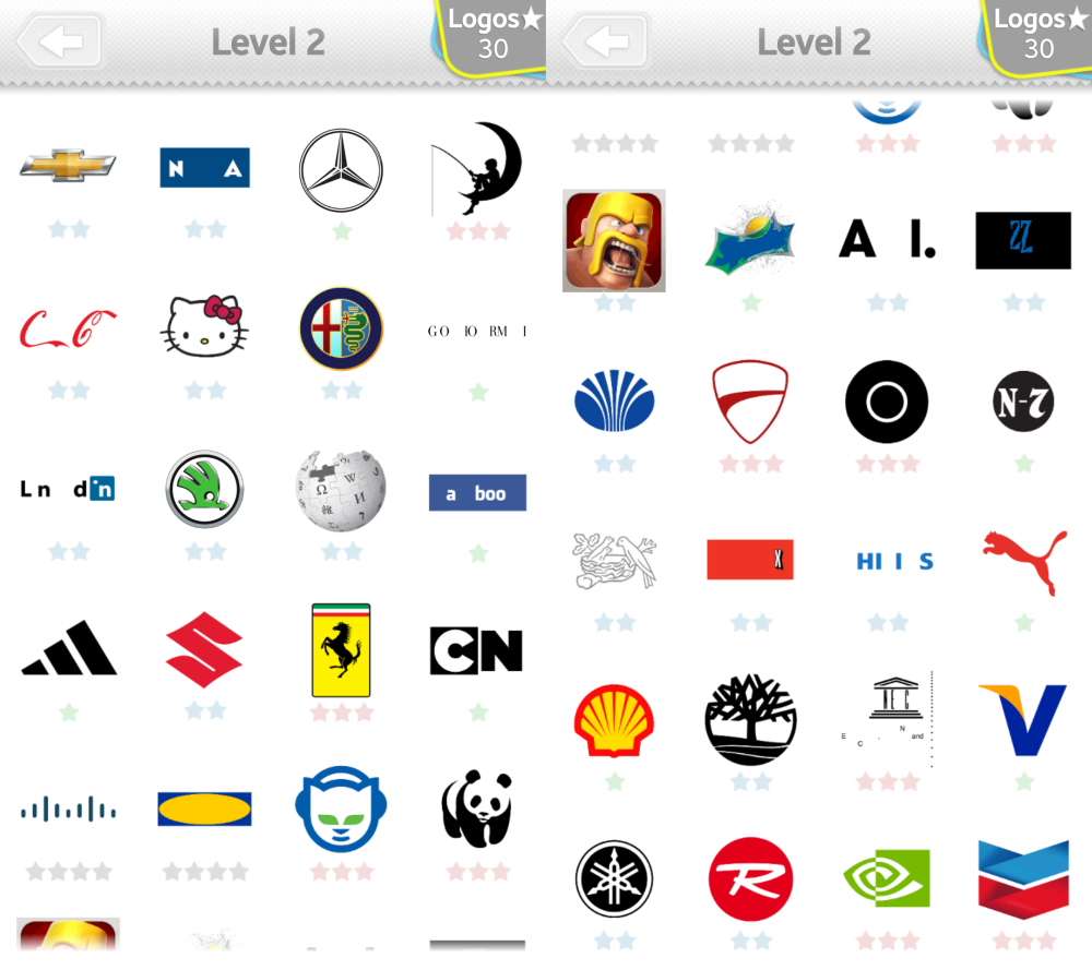 Car Logo Quiz Level