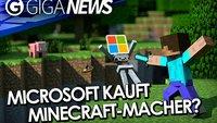 GIGA News: Will Microsoft Mojang kaufen? Pikmin-Kurzfilm und Destiny-Rekord