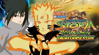 GIGA Gameplay: Naruto Shippuden Ultimate Ninja Storm Revolution
