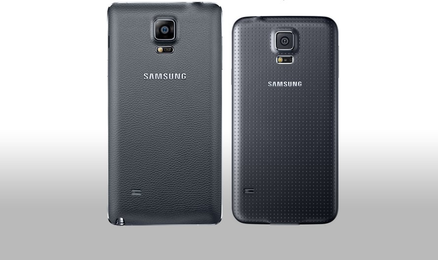 Note4-vs-S5-rear