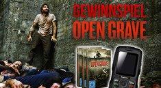 Gewinnt Film-Merchandise zum Horror-Thriller Open Grave