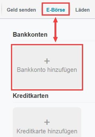 geld auf paypal konto einzahlen ohne bankkonto