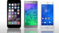iPhone 6 vs. Sony Xperia Z3 compact vs. Samsung Galaxy Alpha