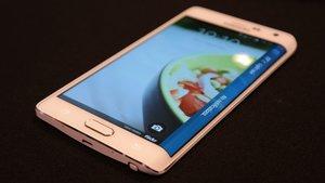 Samsung Galaxy Note Edge: Das Smartphone mit abgerundetem Display
