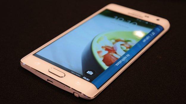 Baldiger Deutschlandstart des Samsung Galaxy Note Edge - vorerst limitiert