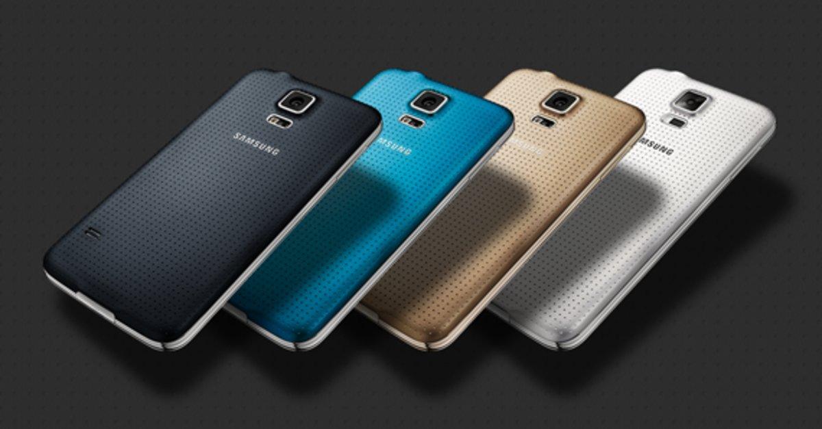 Samsung Galaxy S5 Farben Die Bunte Farbenwelt Von Samsung
