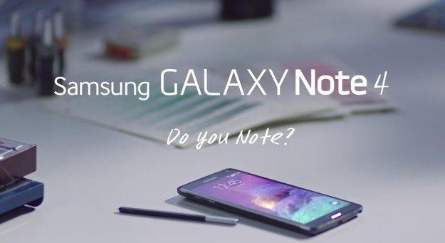 Samsung Galaxy Note 4: Erste Werbespots veröffentlicht