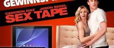 Wir verlosen ein Xperia™ Z2 Tablet zum Filmstart von Sex Tape