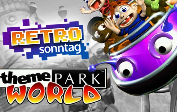 RETRO Sonntag: Pixelige 3D-Attraktionen in Theme Park World!