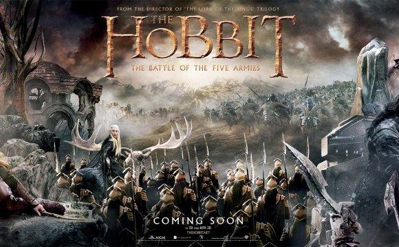Der Hobbit 3: Riesen-Banner gibt Ausblick auf die Handlung