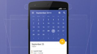 Today Calendar: Neues Update bringt Android L-Anstrich im Material Design